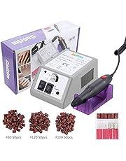 Limetta Elettrica per Unghie Professionale, Cadrim Macchina per Manicure Pedicure Kit per Limare Unghia, Portatile Elettronica Limetta Drill Acrilica (20,000)
