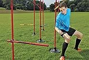 Kwik Goal 16B1201 Coaching Sticks Hurdle Set