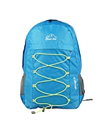 Ultra Lightweight Packable Backpack Hiking Daypack ,Handy Durable Foldable Camping Outdoor Travel Biking School Air Travelling Carry on Backpack for Men and Women (light blue)