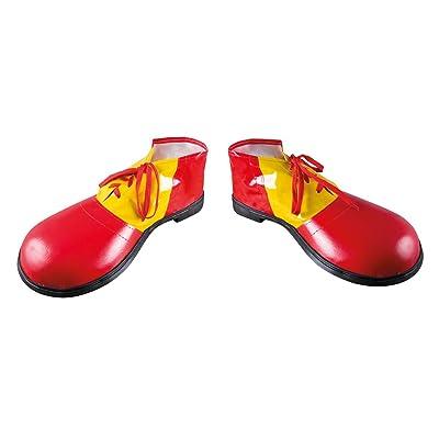 P 'tit payaso - 17069 - Zapatos de payaso gigantes, vinilo - la par - tamaño 36 cm): Juguetes y juegos