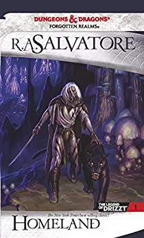 Homeland: The Legend of Drizzt, Book I by [Salvatore, R.A.]