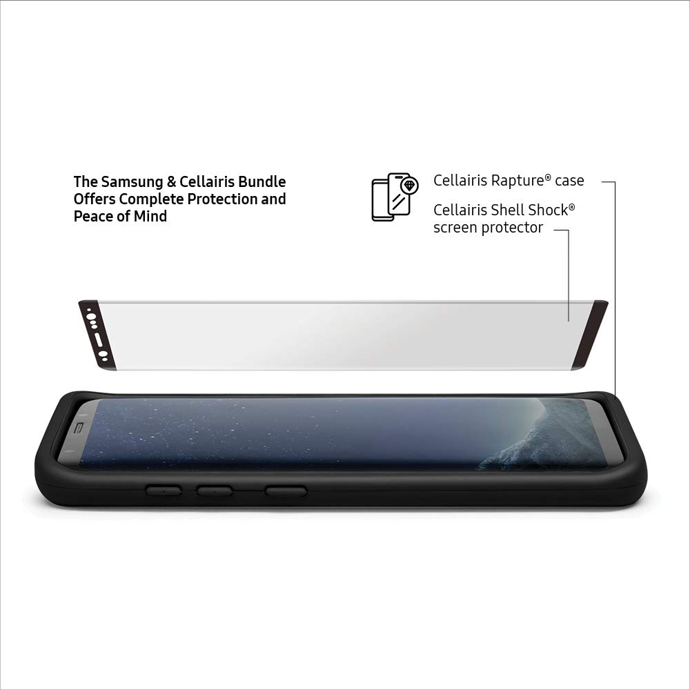 Samsung Galaxy S8 64 GB Unlocked Phone with FREE Cellairis Phone Case & Screen Protector