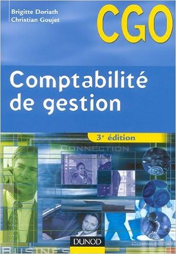 Download Comptabilité de gestion BTS CGO : Processus 7 : Détermination et analyse des coûts pdf