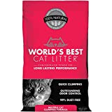 World's Best Cat Litter Multiple Cat Clumping Formula, (15 Pound Bag)