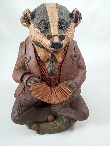 Tom Clark Gnomes BADGER Wind in the Willows Ariel Cairn Studio Signed