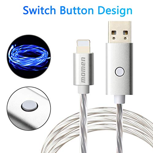 Charging Cable Compatible Visible Flowing