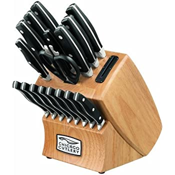 Amazon Com Chicago Cutlery Insignia2 18 Piece Knife Block