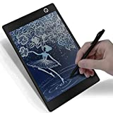 9.7 inch LCD Writing Tablet,Color Drawing Board,Portable Drawing Pads for School Kids, Office, Home (Black)
