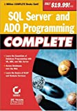 img - for SQL Server and ADO Programming Complete book / textbook / text book