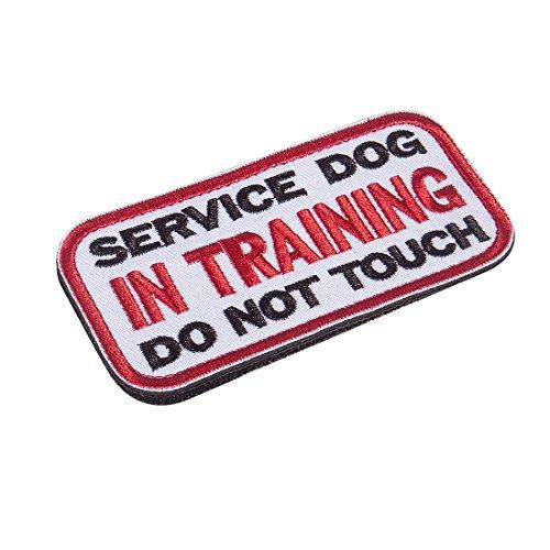 service dog patch stop - 2