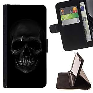 - Skull Devil Pattern/ Personalizada del estilo del dise???¡Ào de la PU Caso de encargo del cuero del tir????n del soporte d - Cao - For Sony Xperia Z1 Compact D5503