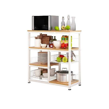 Amazon.com: WYY Estante de almacenamiento, estante de cocina ...