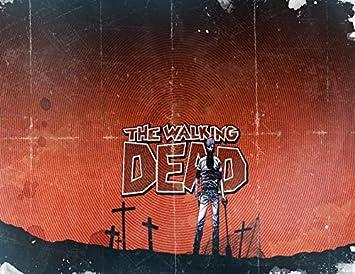 DEAD INSIDE ZOMBIES Walking Dead Edible Cake Topper Frosting Sheet-All Sizes!