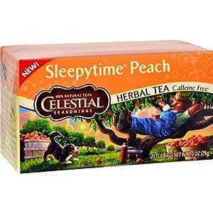 Celestial Seasonings Sleepytime Kids Goodnight Grape Herb Tea - 20 bags per pack -- 6 packs per case.