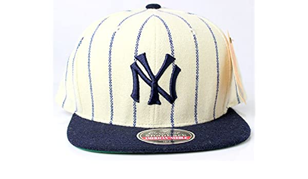 e4b1446394618 New York Yankees MLB American Needle 1921 Vintage Pinstriped Original  Snapback Cap  Amazon.ca  Sports   Outdoors