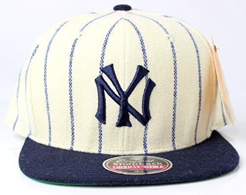 e3d803fcae9 New York Yankees MLB American Needle 1921 Vintage Pinstriped Original  Snapback Cap