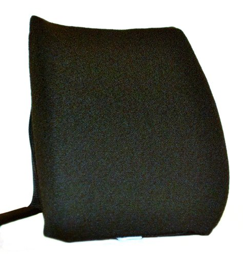 Mc Carty's Sacro-Ease Ergo Curve Cush Lumbar Support Cushion, Black by McCarty's