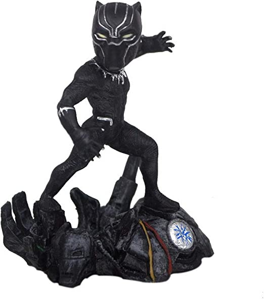 Anime Super Hero Black Panther PVC Figure Statue Toy Gifts Toy No Box