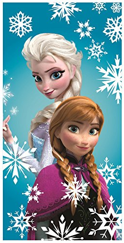 Disney Oficial Frozen Elsa Anna algodón playa toalla de baño: Amazon.es: Hogar