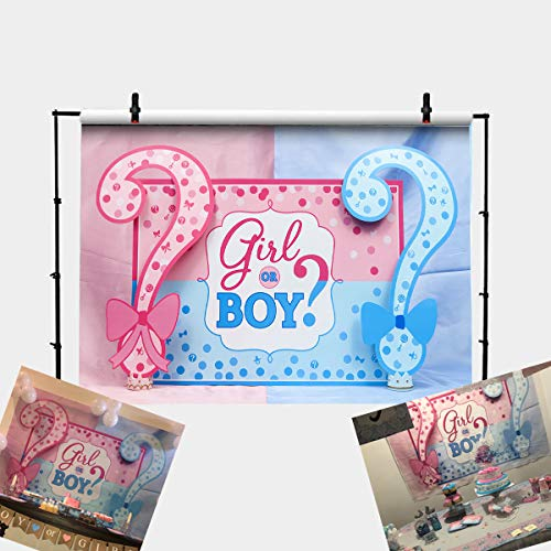 Boy or Girl Background Happy Birthday Photography Backdrops Photo Studio Props 7x5FT
