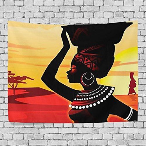 Woor Home Decor African Women Tapestries Hanging Bedroom