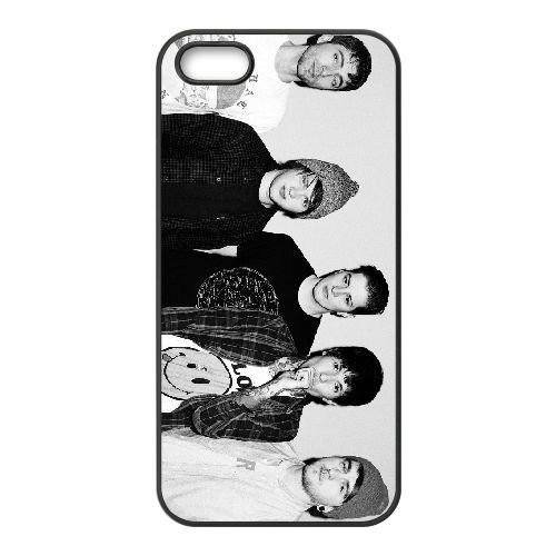 Bring Me The Horizon 017 coque iPhone 5 5S cellulaire cas coque de téléphone cas téléphone cellulaire noir couvercle EOKXLLNCD22450