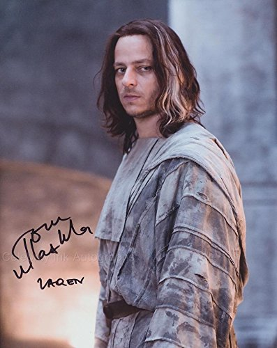 TOM WLASCHIHA as Jaqen H'ghar - Game Of Thrones GENUINE AUTOGRAPH