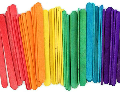 Eco Craft Stix ECS 114St Colored-1000 4.5