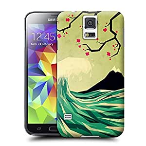 Unique Phone Case Exquisite art pattern falling in love Hard Cover for samsung galaxy s5 cases-buythecase