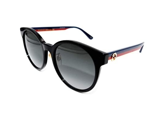 e48cf5f2de8fe Amazon.com  Sunglasses Gucci GG 0416 SK- 001 BLACK GREY MULTICOLOR ...