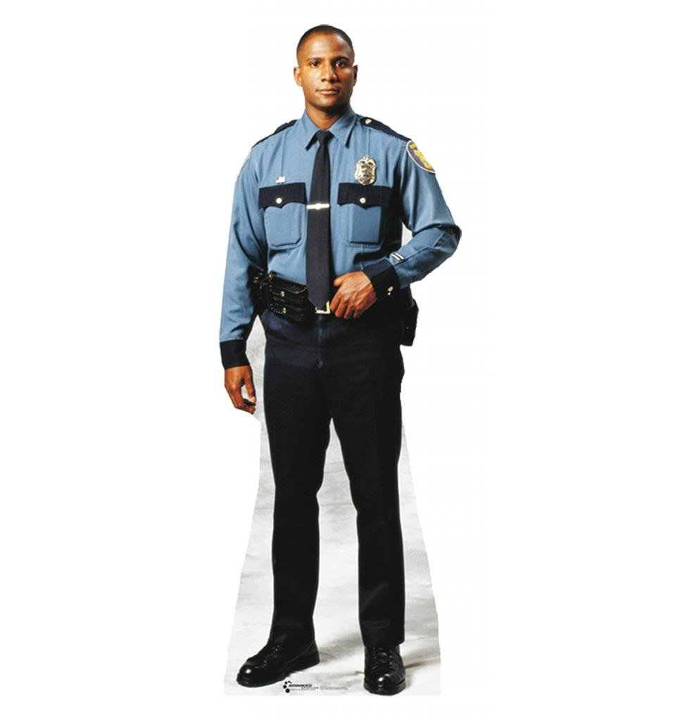 Amazoncom Policeman Advanced Graphics Life Size Cardboard