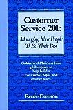 Customer Service 201, Renee Evenson, 1890181013