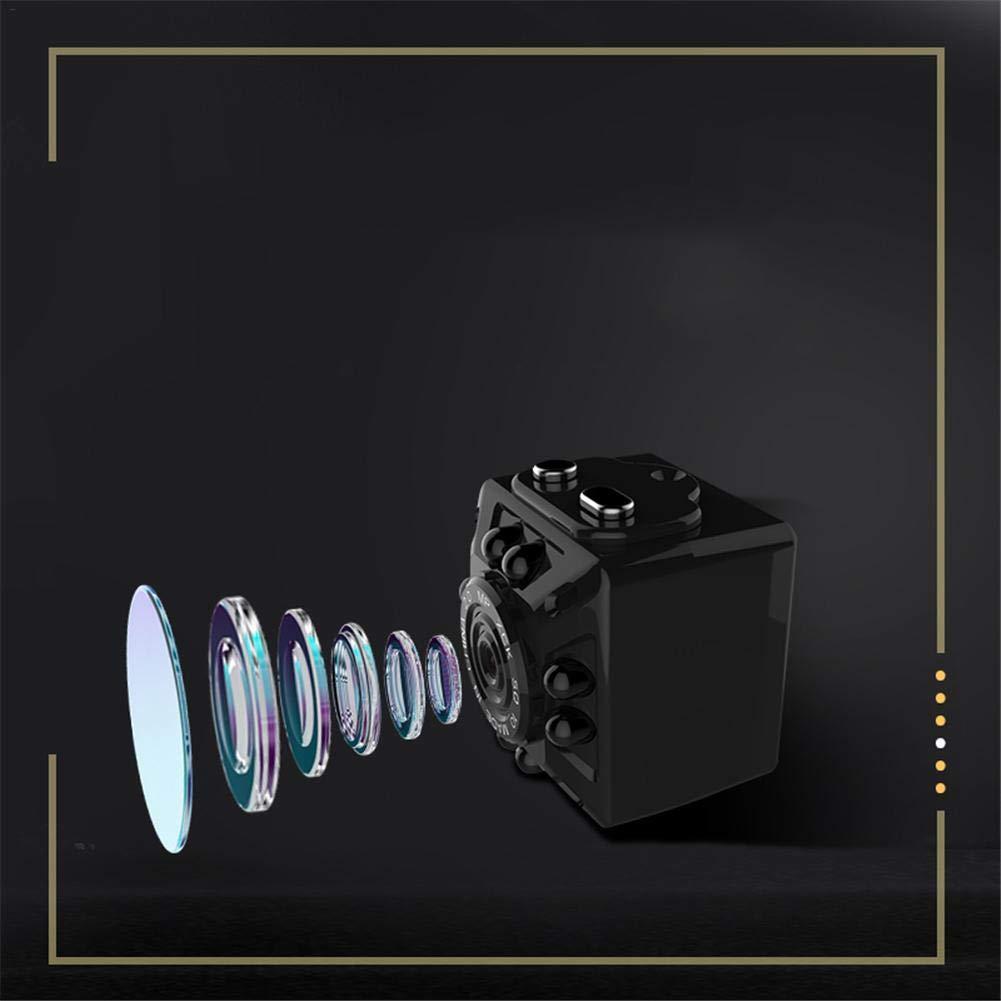 iB/àste SQ10 SQ11 Metal, HD 1080P, Objetivo de 3,6 mm, c/ámara peque/ña DV 2-1, 2.2 1.6 2,2 cm Mini c/ámara de vigilancia