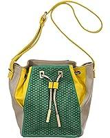 Melie Bianco Ella Cross-Body Drawstring Bucket Bag