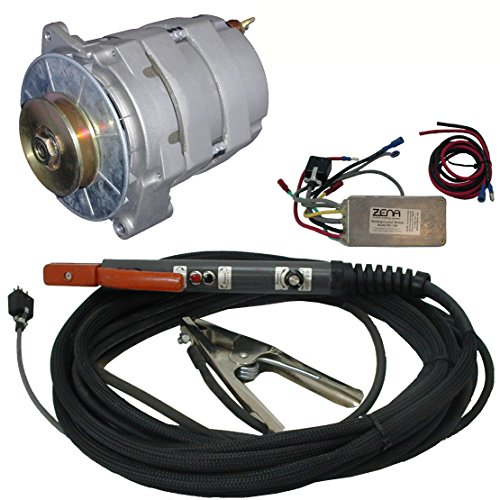 ZENA Model MW150B, 150 amp DC, 100% duty, engine driven welder kit (w/20' cables & remote controls) -- attach/retrofit to small engine or vehicle -- repair a
