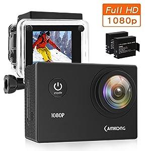 camkong action camera helmkamera unterwasserkamera sport. Black Bedroom Furniture Sets. Home Design Ideas