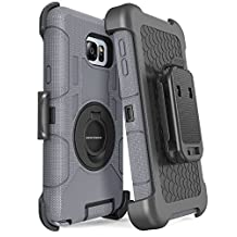 Samsung Galaxy Note 5 Case, Note 5 Case Belt Clip, BENTOBEN Shockproof Heavy Duty Hybrid Full Body Rugged Holster Protective Case With Kickstand for Samsung Galaxy Note 5 - Black
