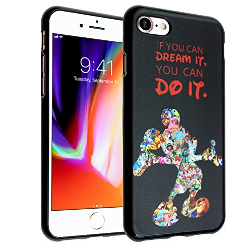 Disney Mickey Quotes iPhone 6s Case, iPhone 6 Case, IMAGITOUCH Anti-Scratch Shock Proof Slim Fit Flexible TPU Case Bumper Cover for iphone 6s/6 Mickey Mouse Quotes TPU
