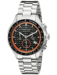 Claude Bernard Men's 10207 3M NO Analog Display Swiss Quartz Silver Watch