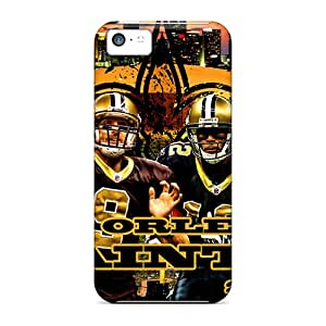 New Arrival Case Cover With PHA1836OGXG Design For Iphone 5c- New Orleans Saints