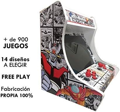 ARCADE MAQUINA RECREATIVA BARTOP NINTENDO SEGA: Amazon.es: Videojuegos