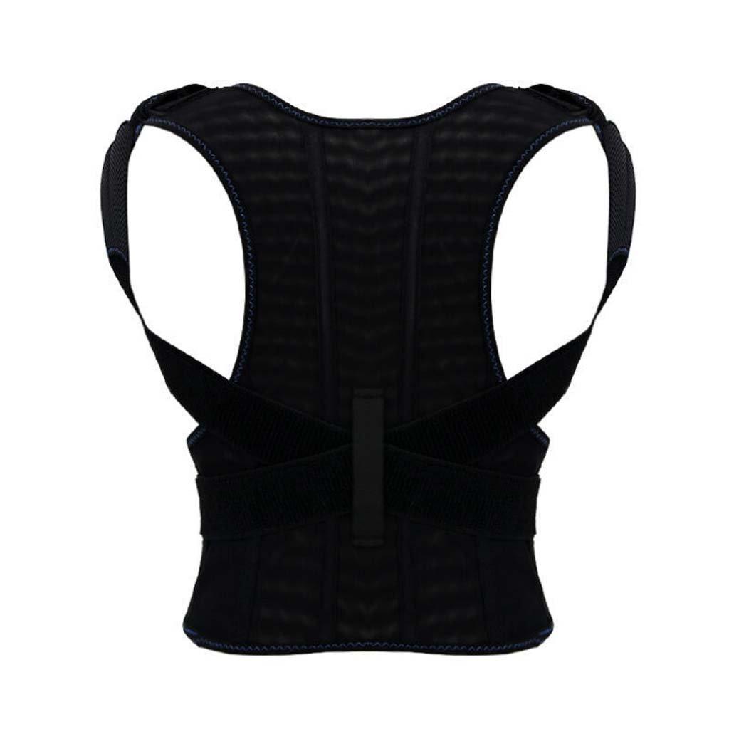 GAIHU Adjust Posture Corrector - Support Shoulder - Lumbar Support Straps For Men And Women,L
