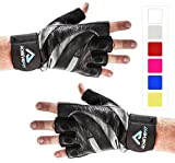 Best Harbinger Gloves Gyms - ACHIEVE FIT Weightlifting Gloves - Leather Palm Review