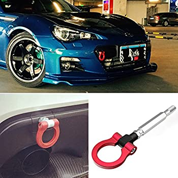 Amazoncom Ijdmtoy Red Track Racing Style Tow Hook Ring For Scion