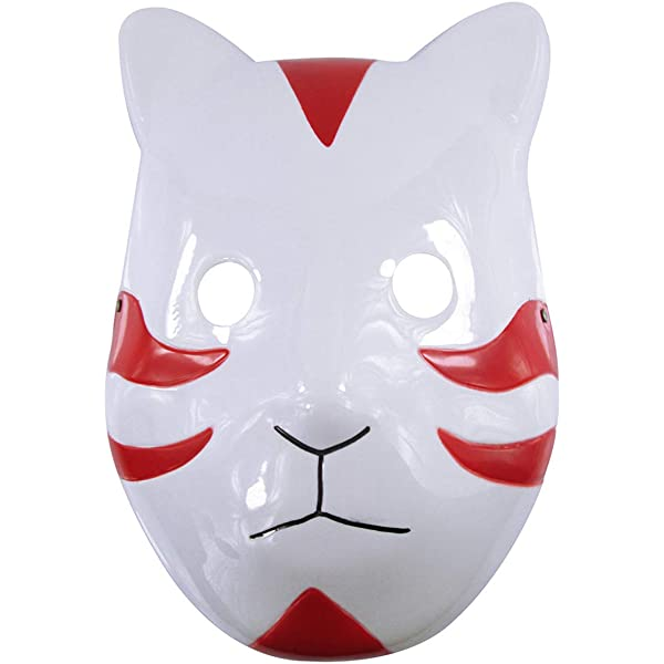 Amazon.com: Tebatu Anime Naruto ANBU Ninja Mask, Cool ...