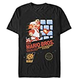 Nintendo Mens NES Super Mario Bros T-Shirt
