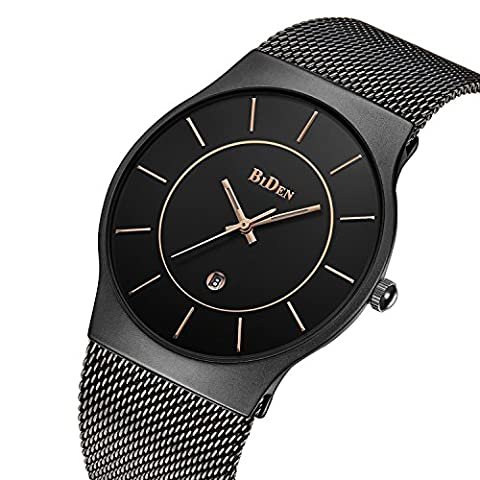 Watches,Mens watches,Women Watches,Fashion Casual,Waterproof Analog Quartz Dress Wrist Watch With Mesh Milanese Bracelet (Water Proof Watches Ladies)