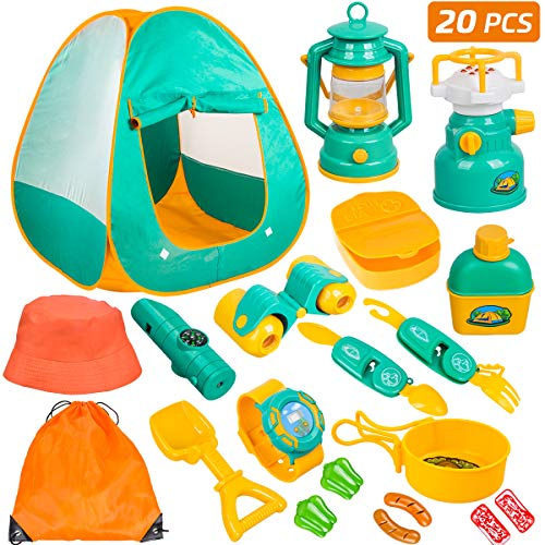 Meland Kids Camping Tent 20pcs product image