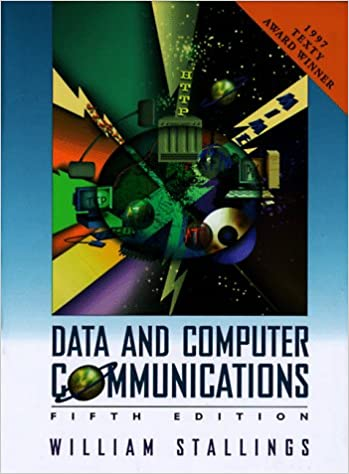 Data And Computer Communications William Stallings 9780024154255
