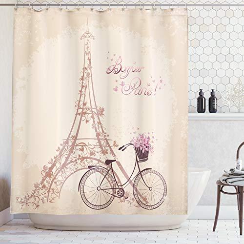 Ambesonne Paris Decor Collection,